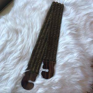 Francescas beaded belt